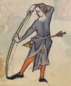 Psalter ('The Luttrell Psalter') with calendar and additional material 1325-1340 Add MS 42130 Folio 56r