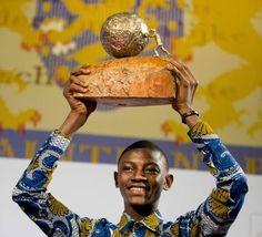 Abraham Keita vence Prêmio Internacional da Paz das Crianças 2015 (foto:EPA)