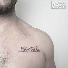 WEBSTA @ ahmet_cambaz - #tattoo  #vscocam #vsco #design #tattoodesign #blackandwhite #blacktattoo #tattoooftheday #dovmemodelleri #draw #dovme #dotworktattoo #dotwork #drawing #tattoomobile #blackandwhite #tattooworkers #sketch  #geometrictattoo #doodle #elephant