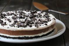Oreokake 2.0 Delicious Cake Recipes, Yummy Cakes, Cake Cookies, Cupcake Cakes, Pudding Desserts, Vegan, I Love Food, Beautiful Cakes, Food Porn