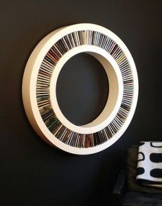 Circular CD rack, now I have a place for all those CDs!