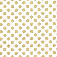 Gold dot crib sheet