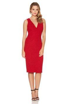 Womens Crepe Lazer Cut Out Party Dress Quiz Sale Low Price Buy Clearance Visa Payment Deals Cheap Online CF44M