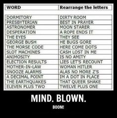 Mind = Blown. My favorite is Hitler= mother-in-law