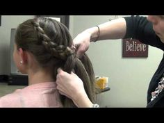 How to do a Katniss from The Hunger Games Braid (Dutch Braid) did this once and got tons if compliments. One of my favorite styles.