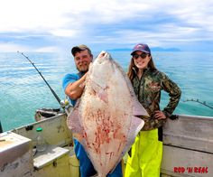 Trophy Halibut Fishing in Alaska at Rod 'N Real fishing Charters | Fishing Girls
