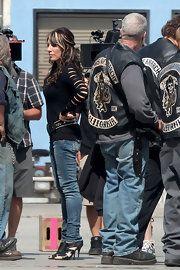 Katey Sagal Skinny Jeans