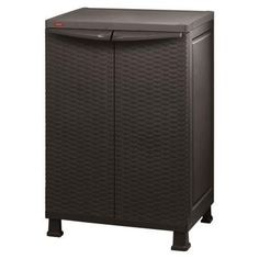 "Keter 215659 26"" x 39"" Freestanding Indoor/outdoor Plastic Rattan Base Cabinet *** (paid link) Be sure to check out this awesome product."