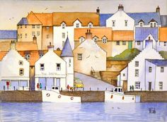Anstruther Harbour by Malcolm Coils