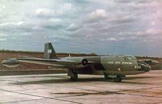 B102 Canberra Fuerza Aérea Argentina