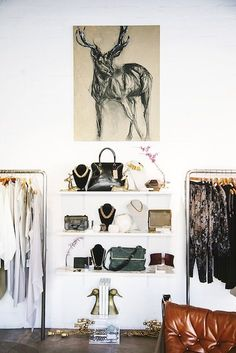 Des Kohan's LA boutique boasts tons of fab accessories--and 80% are exclusive to her store!
