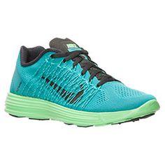 Women's Nike Lunaracer+ 3 Running Shoes| Finish Line | Tribe Green/Black/Light Lucid Green