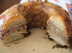 Couronne de pommes de terre Beef Recipes, Cooking Recipes, Recipies, Good Food, Yummy Food, Sandwiches For Lunch, Potato Dishes, Ham And Cheese, Food Inspiration