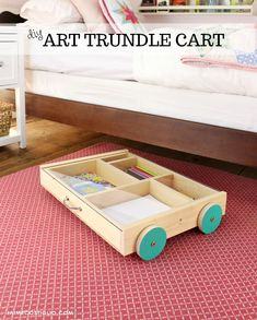 art trundle cart title