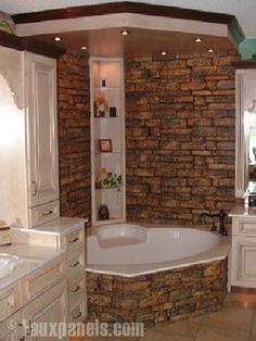 The next time we buy a house, I'm going to beg/insist on a garden tub... We could put in a  'rain' shower with this one.!