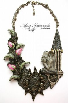 This is so Cool!  Necklace by Alla Maslennikova