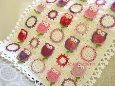 Owl+Blanket+Crochet+Pattern+Fantasy+Newborn+Baby+by+MariMartin,+$6.00