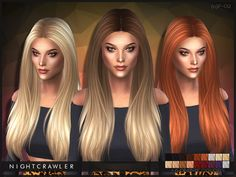 The Sims Resource: Hairstyle 02 by Nightcrawler  - Sims 4 Hairs - http://sims4hairs.com/the-sims-resource-hairstyle-02-by-nightcrawler/