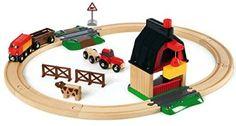 ⭐ [미국 아마존] 브리오 농장 세트, BRIO Farm Railway Set