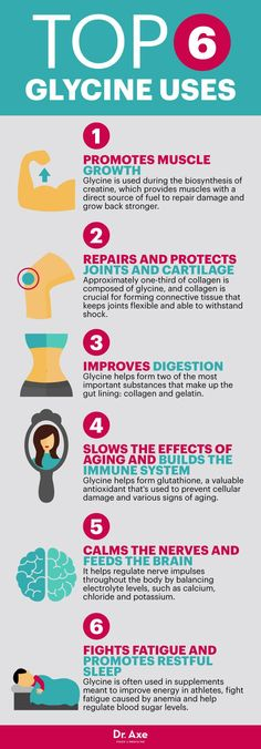 Glycine benefits - Dr. Axe