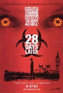 28 Days Later This is the zombie movie where the zombies go fast.no more sluggish zombies after this groundbreaking zombie flick! Horror Movie Posters, Best Horror Movies, Horror Films, Horror Dvd, Zombie Movies, Scary Movies, Great Movies, Awesome Movies, Halloween Movies