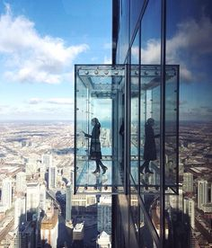 F T ♡  - Willis (Sears) Tower Skydeck Chicago