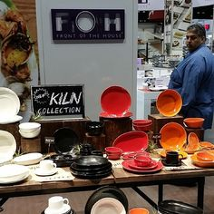 @fohinc ….new #Kiln…coolest dinnerware of the day! #rusticchic