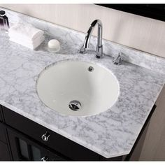 American Imaginations American Imaginations Bathroom Sink Faucet Mount: Biscuit, Hardware Finish: Stainless Steel