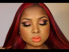 Bronze Arabic Inspired Make up tutorial - Reupload