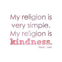 Dalai Lama Quote - Religion