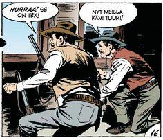 Tex Willer - Uudisraivaajat. #egmont #sarjakuva #sarjis