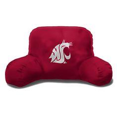 Washington State Cougars NCAA Bedrest Pillow