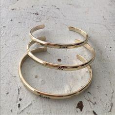 Bangle set LOVE ME MORE. Bangle set from Victoria's Secret Victoria's Secret Jewelry Bracelets