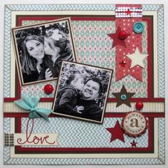 scrapbooking ideas - love