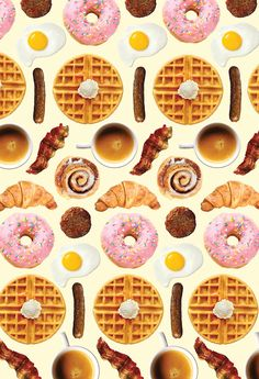 pattern | breakfast food