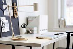 Ikea's new wireless charging lamp | Remodelista