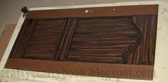 Crafty Crafty Book: Look like wood - How to restore door