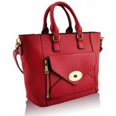 Red Fashion #Tote Handbag Price: £8.99 Find more details @ http://www.completethelookz.co.uk/fashion-accessories/fashion-handbags?page=11
