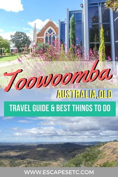 Looking for the perfect weekend getaway to the Queensland countryside? Toowoomba is the perfect place for you. Check out my guide to spending a weekend here and some of the top things to do in Toowoomba. Australia Tourism, Australia Travel Guide, Australia Beach, Visit Australia, Victoria Australia, Western Australia, Queensland Australia, South Australia, Travel Guides