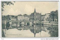 Haven met postkantoor, ca 1910