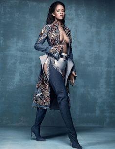 Shades Of Blackness. Vogue UK April 2016. Model: Rihanna Photographer: Craig…