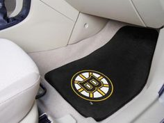 NHL Boston Bruins Car Mats 2 Piece Front by FanMats. Buy now @ReadyGolf.com