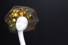 Hats Made of Real Flowers | Interflora | Interflora