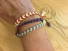 How to Fläta Armband Friendship Bracelets, Diy, Jewelry, Armband, Do It Yourself, Jewellery Making, Jewerly, Bricolage, Jewelery