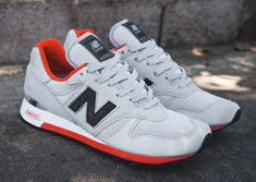 New Balance 1300 'Made in USA' (Grey & Orange)