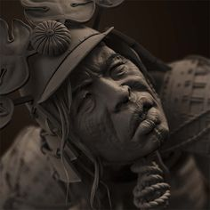 Pixologic ZBrush Gallery: Samurai Warriors