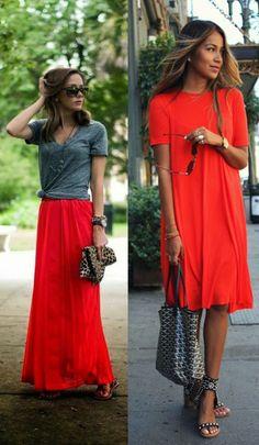 cinza + vermelho