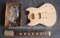 DIY Guitar Kits $35~$300 Guitar Case, Cool Guitar, Guitar Kits, Guitars, Diy, Bricolage, Do It Yourself, Guitar, Homemade