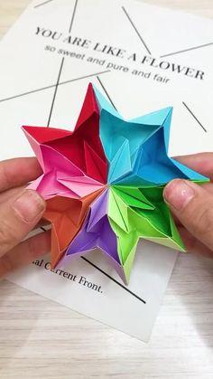 20 Best Easy Paper Origami Models Origami is a superb effort to utilize your free time or even make important … Diy Crafts Hacks, Diy Crafts For Gifts, Diy Arts And Crafts, Wood Crafts, Paper Crafts Origami, Paper Crafts For Kids, Instruções Origami, Oragami, Origami Videos