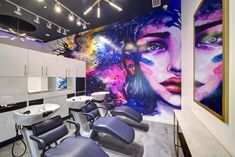 Current Salon & Color Bar – Ashburn, VA – Blending eye catching hues and textures with a collection of luxurious equipment and elegant adornments, Current Salon & Color Bar brings a harmonious. Easy Healthy Dinners, Easy Dinner Recipes, Salon Color Bar, Sausage Stuffed Zucchini, Sunday Roast Chicken Dinner, Beauty Makeup Photography, Salon Design, Beauty Hacks Video, Beauty Room